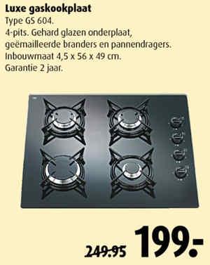Elektrische kookplaat praxis
