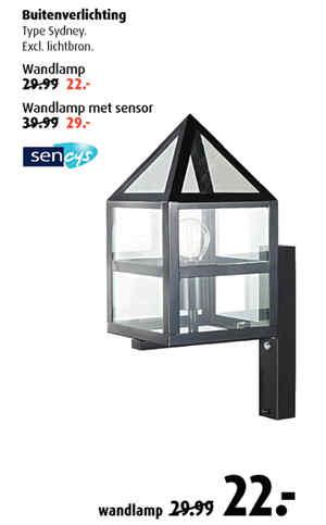 Buitenlamp Met Sensor Praxis.Garden Comfort Tuinmeubelen Buitenverlichting Praxis
